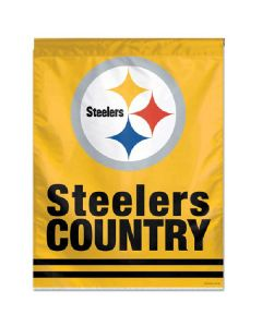 Pittsburgh Steelers Country Gold House Flag