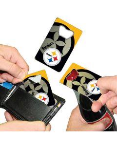 "Pittsburgh Steelers ""Credit Card"" Bottle Opener"