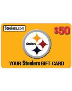 Steelers Merchandise Gift Card $50