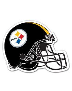 """Pittsburgh Steelers 12"""" Helmet Magnet"""