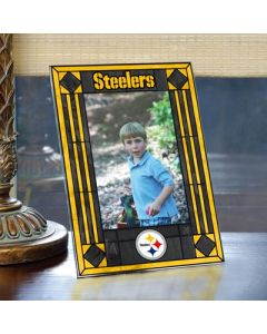 Pittsburgh Steelers Vertical Art Glass Picture Frame