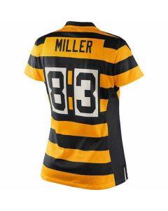 Pittsburgh Steelers Nike Women's Heath Miller Replica Throwback Jersey