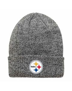 Pittsburgh Steelers Youth Melange Grey Knit Cap