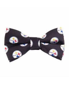 Pittsburgh Steelers Bow Tie - Black