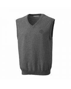 Pittsburgh Steelers Cutter & Buck Broadview V-Neck Sweater Vest