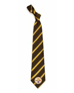 Pittsburgh Steelers Woven Long Snap Tie