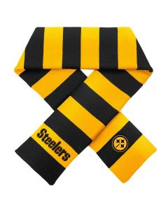 Pittsburgh Steelers Black and Gold Rugby Scarf