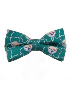 Pittsburgh Steelers Green Shamrock Bow Tie