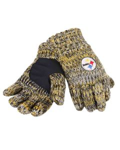 Pittsburgh Steelers Peak Gloves