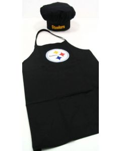 Pittsburgh Steelers Chef Apron and Hat