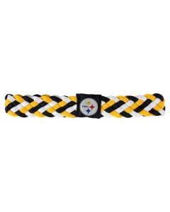 Pittsburgh Steelers Braided Hairband