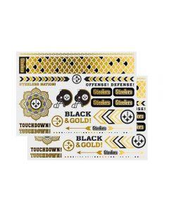 Pittsburgh Steelers Metallic Body Jewelry