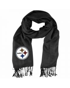Pittsburgh Steelers Crystal Scarf - Black