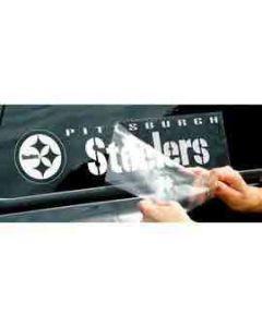 """Pittsburgh Steelers Die-Cut 16""""x5"""" Window Decal"""