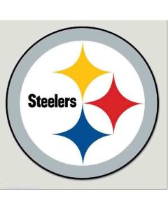 Pittsburgh Steelers 8x8 Vinyl Color Logo Decal
