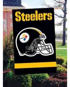 Pittsburgh Steelers Helmet House Flag