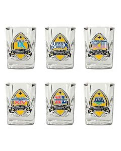 Pittsburgh Steelers 6-Time Super Bowl Champs Shot Glass Set