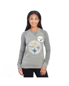 Pittsburgh Steelers Women's Twice as Nice Fleece Crew
