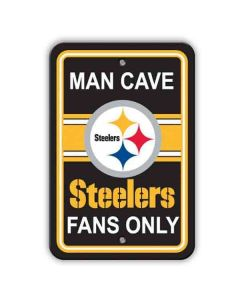 Pittsburgh Steelers Man Cave Fan Sign