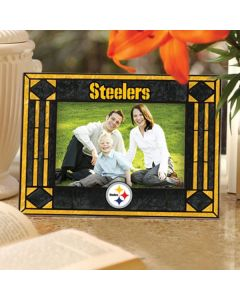 Pittsburgh Steelers Horizontal Art Glass Picture Frame