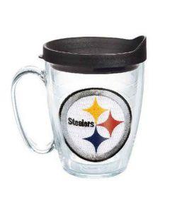 Pittsburgh Steelers Tervis 15 Oz. Clear Logo Mug