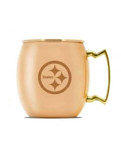 Pittsburgh Steelers Moscow Mule Copper Mug