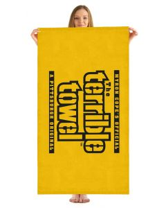 Pittsburgh Steelers Terrible Towel Beach Towel