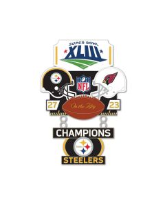 Pittsburgh Steelers Super Bowl XLIII Lapel Pin