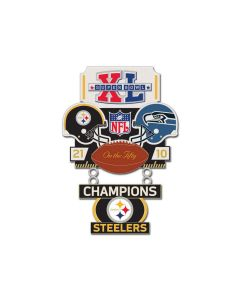 Pittsburgh Steelers Super Bowl XL Lapel Pin