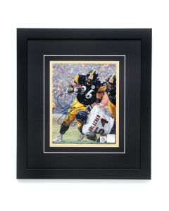 Pittsburgh Steelers #36 Jerome Bettis Autographed and Framed 8x10 Photo