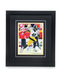 Pittsburgh Steelers #48 Bud Dupree Autographed and Framed 8x10 Photo