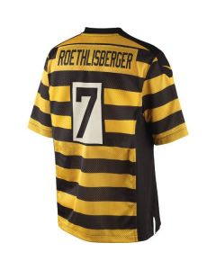 Ben Roethlisberger #7 Youth Nike Replica Alternate Jersey