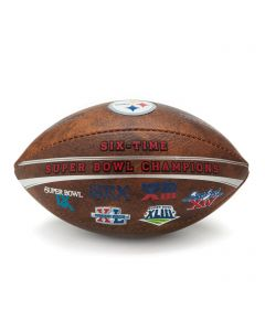 Pittsburgh Steelers Six Time Superbowl Mini Football
