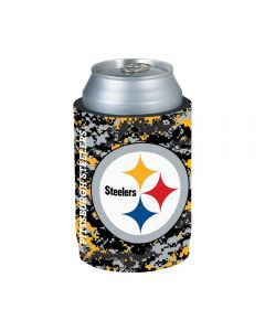 Pittsburgh Steelers Digi Camo Can Coolie