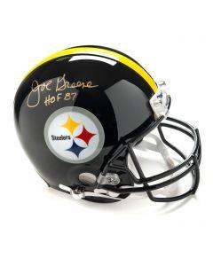 Pittsburgh Steelers #75 Joe Greene Autographed Riddell ProLine Authentic Full Size Helmet
