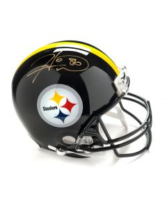 Pittsburgh Steelers #86 Hines Ward Autographed Riddell ProLine Authentic Full Size Helmet