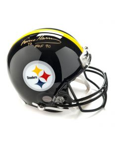 Pittsburgh Steelers #32 Franco Harris Autographed Riddell ProLine Authentic Full Size Helmet
