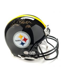 Pittsburgh Steelers #20 Rocky Bleier Autographed Riddell ProLine Authentic Full Size Helmet