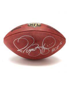 Pittsburgh Steelers #36 Jerome Bettis Autographed Wilson NFL 'The Duke' Authentic Game Football