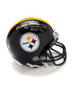 Pittsburgh Steelers #32 Franco Harris Autographed Riddell Mini Helmet