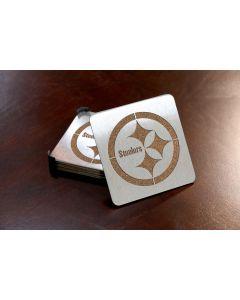 Pittsburgh Steelers Boaster Coasters - 4pc.
