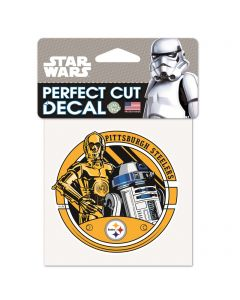 Pittsburgh Steelers Star Wars R2D2 Decal