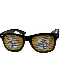 Pittsburgh Steelers Game Day Black Sunglasses