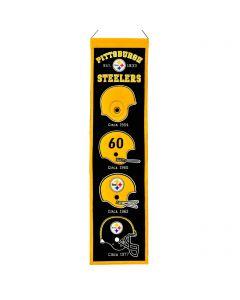 Pittsburgh Steelers Heritage Helmet Banner