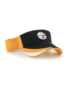 Pittsburgh Steelers '47 Drawback Visor