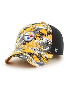 Pittsburgh Steelers Youth Adjustable Snare Cap
