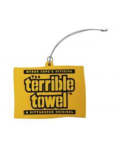 Pittsburgh Steelers Terrible Towel Ornament