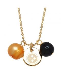 Pittsburgh Steelers Pearls Dangle Necklace