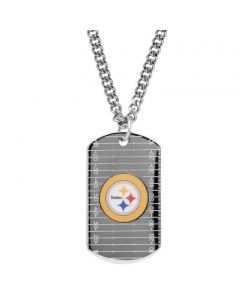 Pittsburgh Steelers Honora Dog Tag with Chain