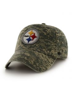 Pittsburgh Steelers '47 CLEAN UP Officer Digi Camo Hat
